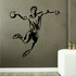 Rugby Contour Shadow Throw Pose Decal