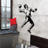 Rugby Winding up Throw Decal