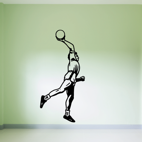 Rugby Over Shoulder Toss Decal