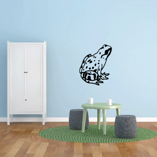 Northern Leopard Frog Decal