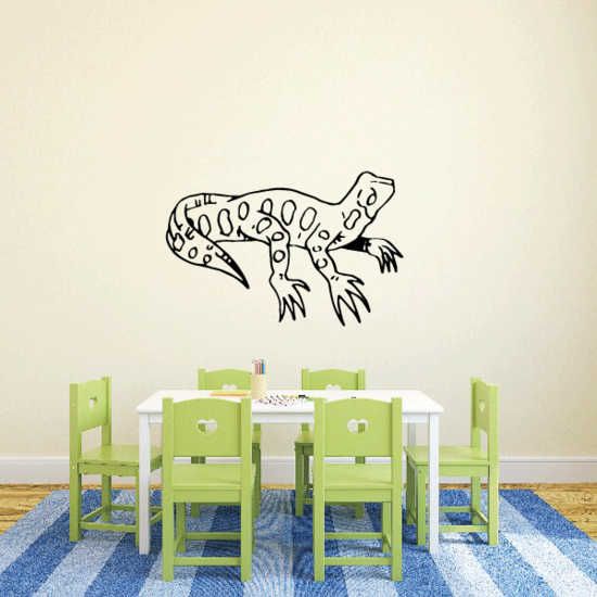 Looking Up Leopard Gecko Decal