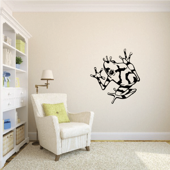 Pond Frog Decal