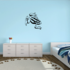 Striped March Frog Decal
