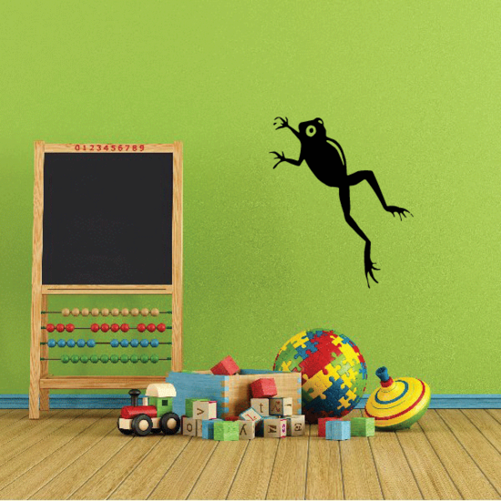 Leaping Frog Decal