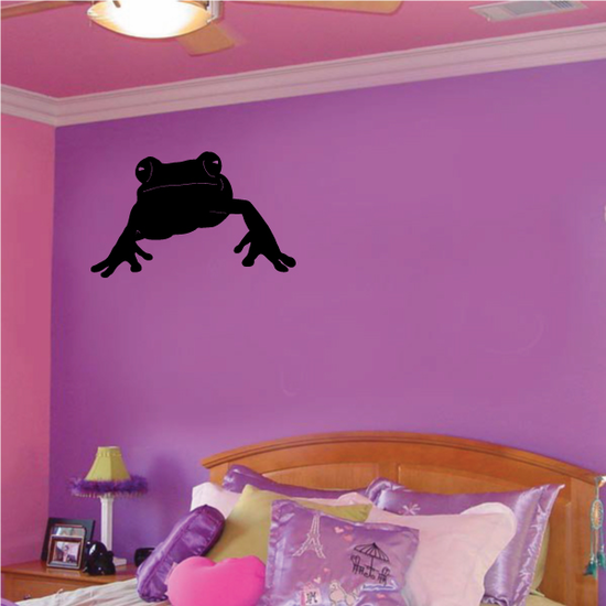 Approaching Frog Decal