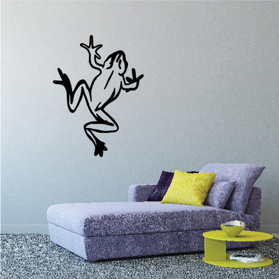 Climbing Frog Toad Decal