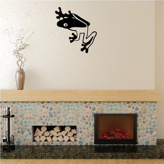 Hiding Frog Decal