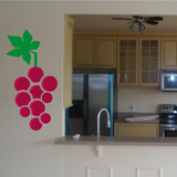 Grapes Wall Decal - Vinyl Decal - Car Decal - Idcolor025