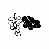 Table Grapes Decal