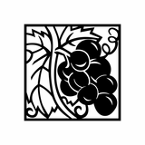 Grapes Growing Decal
