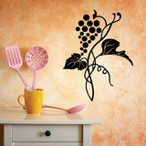 Wine Grapes on a Vine Decal