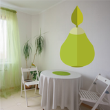 Pear Wall Decal - Vinyl Decal - Car Decal - Idcolor004