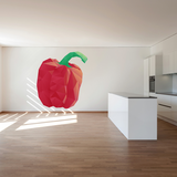 Bell Pepper  Wall Decal - Vinyl Decal - Car Decal - Idcolor016