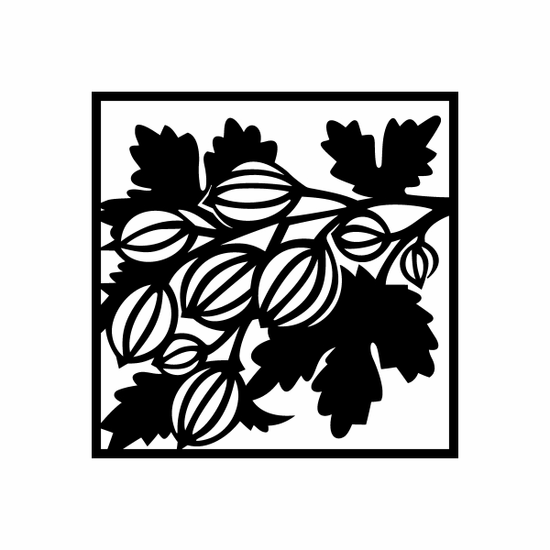 Passion Fruit Square Decal