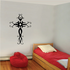 Delicate Filligree Cross Decal