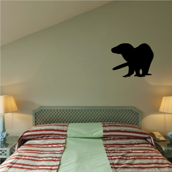 Turning Otter Decal