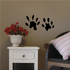 Otter Paws Print Decal