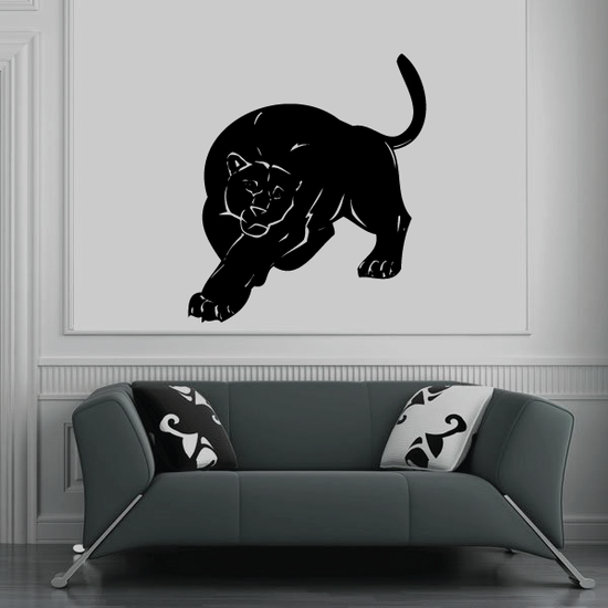 Approaching Panther Decal