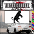 Panther Fighting Decal