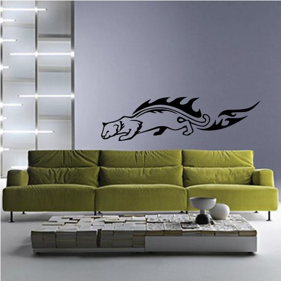 Blazing Panther Decal