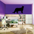 Panther Standing Decal