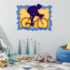 Racing Cyclist Competition Sticker
