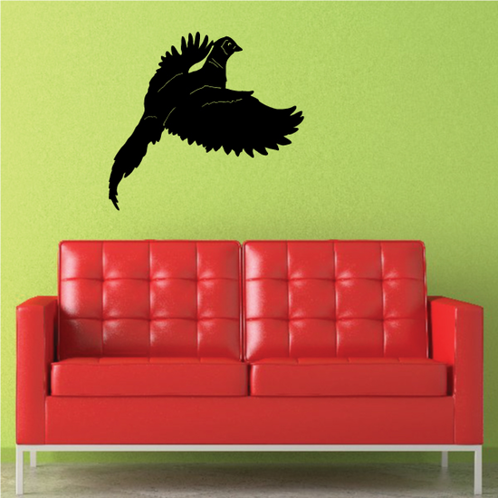 Fluttering Pheasant Decal