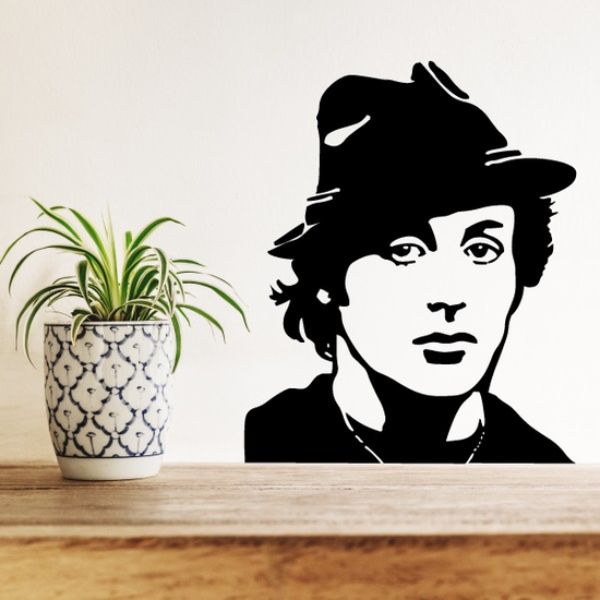 Silvester Stallone Decal