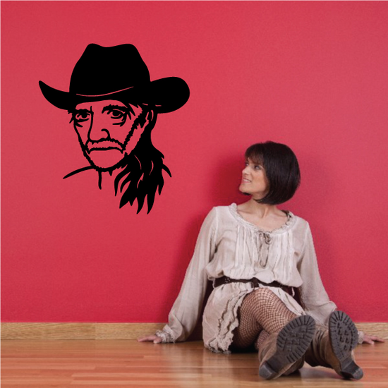 Willie Nelson Decal