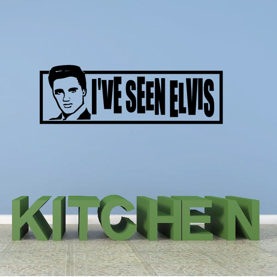 Ive Seen Elvis Decal