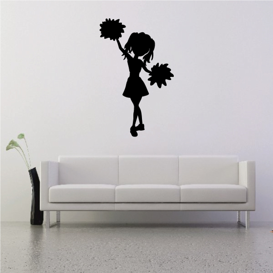 Young Cheerleader Decal