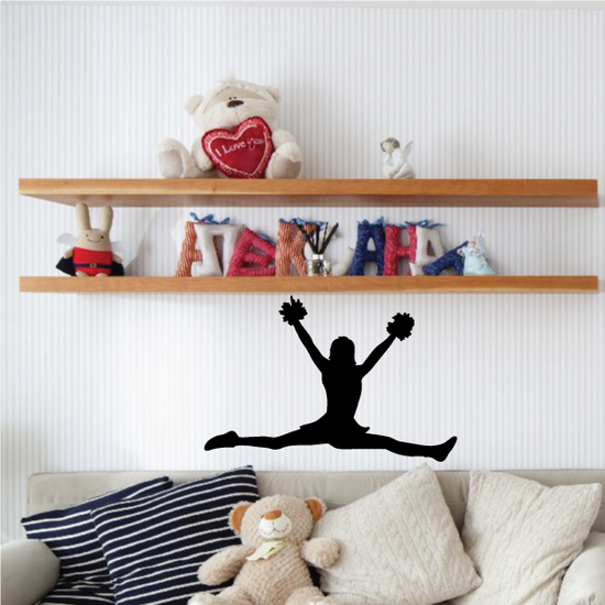 Cheer Wall Decal - Vinyl Decal - Car Decal - 019