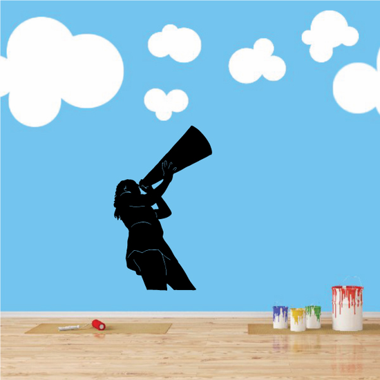 Cheer Wall Decal - Vinyl Decal - Car Decal - 024