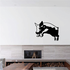Leaping Pig Decal