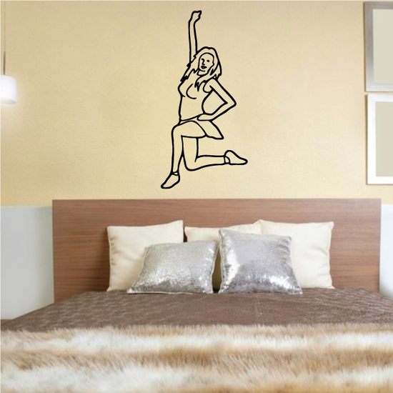 Cheer Wall Decal - Vinyl Decal - Car Decal - 031
