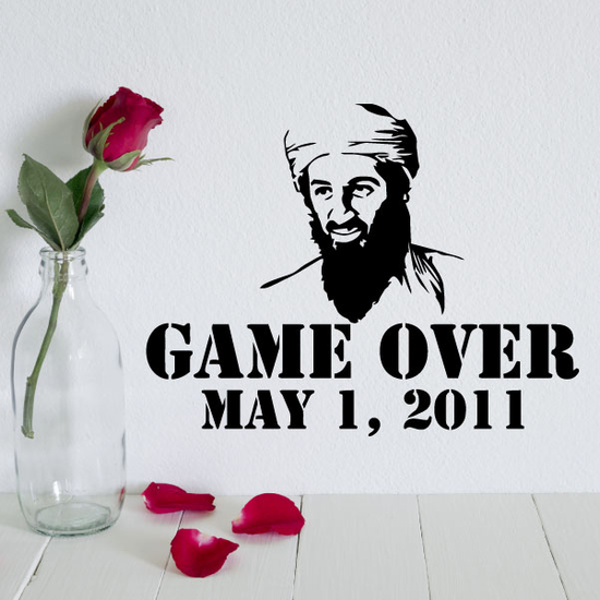 Osama Bin Laden Game Over May 1, 2011 Decal