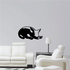 Cute Resting Pig Decal
