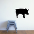 Digging Pig Silhouette Decal