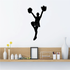 Cheerleading Cheer Wall Decal - Vinyl Decal - Car Decal - NS021