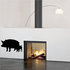 Pig Family Standing Silhouette Decal