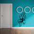 Sports Mascot Wall Decal - Vinyl Decal - Car Decal - SM030