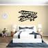 Graphic Flying Biplane Decal