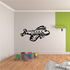 Graphic Commercial Transport Plane Decal