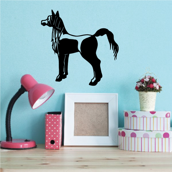 Staring Pony Decal