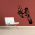 Snowboarding Wall Decal - Vinyl Decal - Car Decal - CDS048