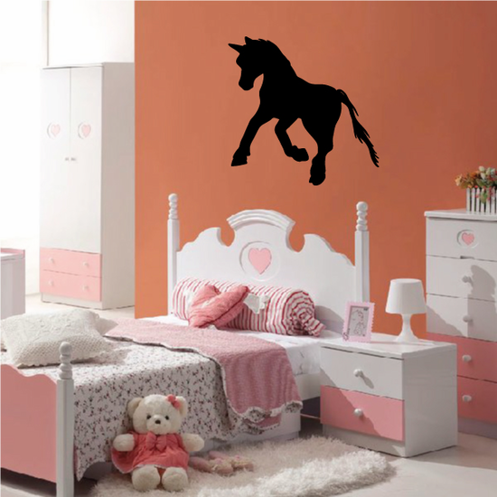 Galloping Pony Decal