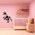 Jumping Pony Decal