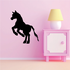 Jumping Pony Silhouette Decal