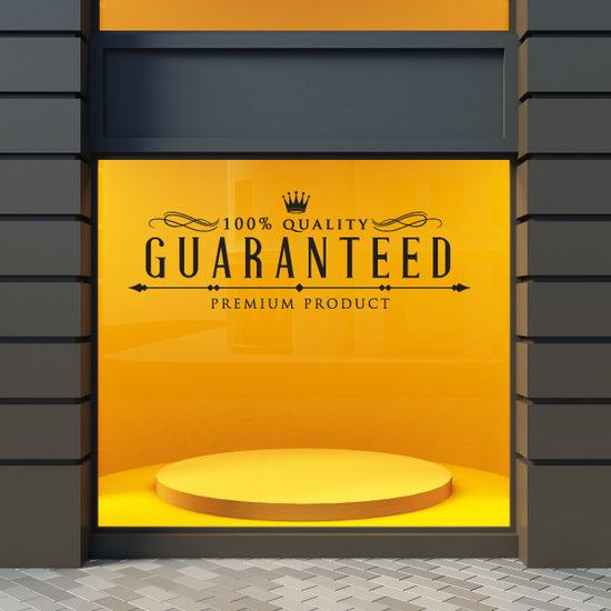100% Quality Guaranteed Premium Product Wall Decal - Vinyl Decal - Car Decal - Id001