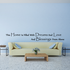 This home is filled with dreams and love and blessings from above Wall Decal